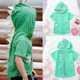 spider man invierno abrigo niños Rebajas Nueva sudadera con capucha de dinosaurio para niños Ropa de diseñador para niños con capucha de verano para niños ropa de diseñador para niños camiseta para niños ropa para niños A6871