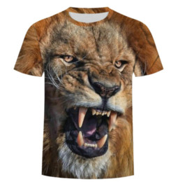 1b7e5c7d Newest Fashion Funny Selling Men Women 3D T Shirt Lion King Animal Print  Summer Hip Hop Short Sleeve Fitness T-shirts Tops S-Plus-Size N1039