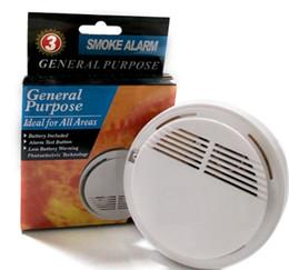 Alarme do monitor da bateria on-line-Wireless Sensor Smoke Detector alta Sensitive Fogo Aviso Monitor Sensor Tester Para Casa Sistema de Segurança sem fio do alarme de incêndio com bateria
