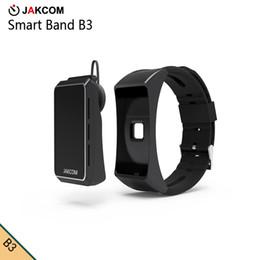 2019 reloj para fitbit flex Venta caliente del reloj elegante de JAKCOM B3 en pulseras elegantes como el interceptor del gsm del interno del cartón de los vidrios