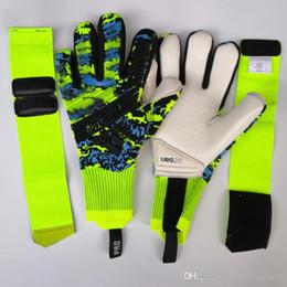 guantes porteros Rebajas 2020 guantes de portero de fútbol profesional de fútbol Ad predator LATEX proveedor mayorista de envío directo