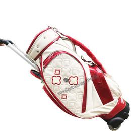 Yeni Kadın Maruman Golf standı çantası Yüksek kalite 8.5 inç Golf çanta seçiminde Beyaz renkler Golf caddy çantası Ücretsiz kargo nereden