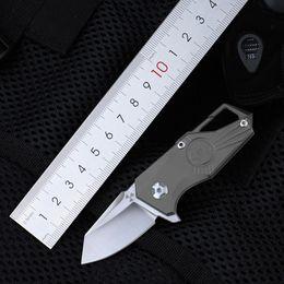 JK5313 S35VN лезвие Титановая ручка шарикоподшипниковая система открытый кемпинг EDC инструмент выживания складные мини карманные ножи с небольшими брелками от Поставщики мини карман инструмент выживания