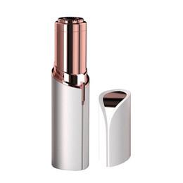 Épilateur électrique pour le visage en Ligne-HR006 Épilation du rouge à lèvres pour femmes indolores face visage rasoir électrique tondeuse bikini épilateur décapant cheveux grande