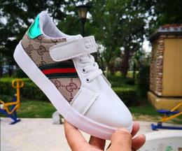 2019 scarpe da passeggio a fondo duro Nuove scarpe da ginnastica per ragazzi e ragazze di alta qualità Scarpe da corsa per bambini di lusso di design classico Scarpe da corsa per bambini