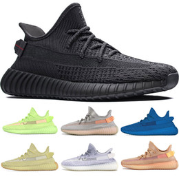 Argentina adidas yeezy boost 350 v2 off white Sply 350s Kanye West Shoes Clay GID Glow ANTLIA Blue Static Black LUNDMARK para hombre Zapatillas de running Zapatillas de diseñador cheap blue womens running shoes Suministro