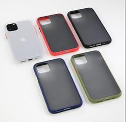 Fall für iphone 11 pro 7 8 X XS XR MAX micro matt bereift Silikonhüllen harten Fall TOP Qualität 2019 neue TPU nicht galaxy note 10 von Fabrikanten