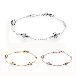 8126eb060bd7 pulseras de plata modernas Rebajas 925 Brazalete de plata esterlina Pan  moderno Lovepods con cadena de