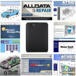 Argentina 2019 Auto Repair Software Alldata 10.53 mitchell 2015 Taller vívido atsg 49 en HDD de 1 TB Alldata mitchell hdd para automóviles y camiones Suministro