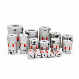 1pcs of Aluminium Plum Flexible Shaft Coupling D20mm L25mm 5X8mm Motor Connector