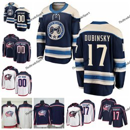2019 Alternate Brandon Dubinsky Columbus Blue Jackets Hockey Jerseys Mens  Custom Name Home  17 Brandon Dubinsk Stitched Hockey Shirts S-XXXL 66352294e