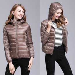 parka sales Coupons - Hot Sale women winter coats Down Casual Jacket Spring Hooded Thin and light Jackets Warm designer Parkas Outwear women clothes Size S-3XL