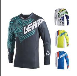 2019 мотоцикл гоночный костюм Leatt DOWNHILL джерси велосипед езда на велосипеде мужской летний горный велосипед мотокросс футболка