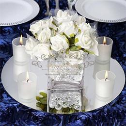 Canada Rond Carré Acrylique Miroir De Noce Table De Décoration Décorations Centres Mur Miroir Décor Mariage Événement Décoratif Plaque Offre