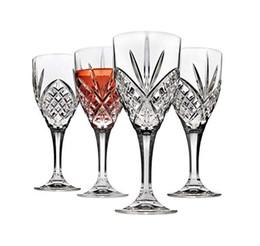 Calici per bicchieri da vino, acrilico infrangibile e riutilizzabile - Collezione Dublin, set di 4 da bicchieri di cristallo di cognac fornitori