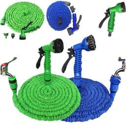 Più nuovo tubo flessibile da giardino 100FT espandibile magico flessibile tubo dell'acqua tubo irrigazione pistola a spruzzo per giardino automobilistico attrezzature per l'irrigazione dropshipping 4950 da