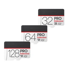 2019 samsung 256 gb Original Micro SD 32GB 64GB 128GB Endurance Pro 17520 horas U1 Clase 10 UHS-I Tarjeta de memoria para grabadora de monitor de video Tarjeta TF
