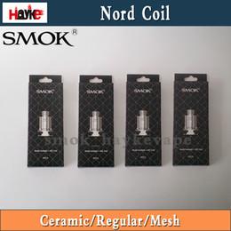 bobine di sostituzione a fumo Sconti Originale Smok Nord Coil capo Pods cartuccia ohm Kit regolare ohm Mesh Replacment Vape Nucleo autentica Smoktech