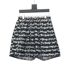 19SS Nova Caixa Logotipo Barrage Shorts Praia Hip Hop Shorts de Verão Moda Casual Rua Hetero Calças Esportivas Homens Mulheres Calças Curtas HFYMKZ158 de