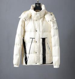 parka leggero nero Sconti 2019 New casuale rivestimento delle donne Uomini Giù Giù Cappotti Mens Outdoor spesso caldo inverno Outwear giacche invernali Abbigliamento Parka plus M-3XL