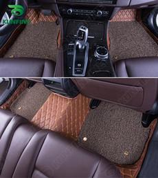 2020 spiralmatten 3D Car Bodenmatte für Mitsubishi Outlander Fuß Matten-Auto-Fuss-Auflage mit einem Layer-Thermosol Coil Pad Left Hand-Treiber Styling günstig spiralmatten