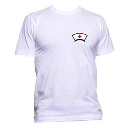 Enfermeira Bolso Do Berçário T-Shirt Das Mulheres Dos Homens Unisex Moda Slogan Comédia Legal Engraçado Tamanho Discout Hot Novo Tshirt Engraçado 100% Algodão Camiseta de