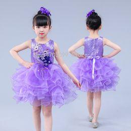 2880a3071d98 2019 nuovi modelli Gonne per bambini mostrano paillettes abbigliamento  ragazze principessa abito da ballo vestito moderno costume da ballo gonna  gonna
