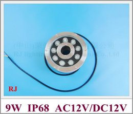 Alta potencia 9W LED luz subacuática LED luz de piscina fuente de luz LED fuente 9W IP68 AC12V entrada desde fabricantes