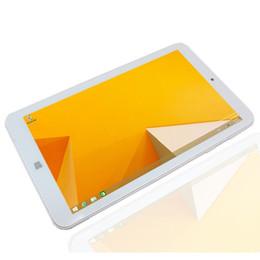 2019 ventanas de la tableta intel atom Glavey Windows 10 Tablet PC 7 pulgadas MOMO7W 1GB + 16GB Intel Atom Z3735G Quad core 1024 * 600 píxeles Bluetooth WIFI tableta blanca ventanas de la tableta intel atom baratos