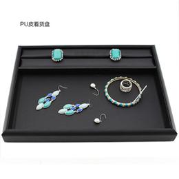Bandeja de exibição de jóias Pingente Cadeia Suporte de exibição Titular Anel Organizador Titular Caso Caixa Vitrine Embalagem de