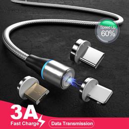 Canada 1m câble USB magnétique de charge rapide de type C pour iphone 6 x ipad chargeur de données aimant Samsung Micro Xiaomi huawei cordon de téléphone mobile Offre