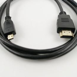 convertire d'oro Sconti Cavo convertitore da 1,5 m Micro HDMI a HDMI adattatore maschio per tablet pc tv telefono cellulare 1080p 4K per XBOX 360
