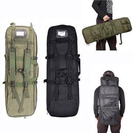 Equipo de tiro online-Venta caliente Ejército Militar Molle Gun Bag Caza Equipo Rifle Caso Airsoft Sport Bag Nylon Shooting Tactical Hombro Mochila # 372540