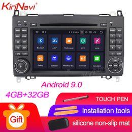 video hindi mp4 Sconti KiriNavi touch screen 7 '' Android 9.0 Radio di navigazione per auto per Mercedes B200 CLK W203 S203 C180 C200 C209 C208 W209 W208 DVD