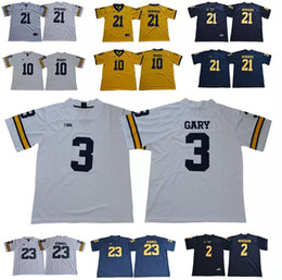 Michigan Wolverines 10 Brady Jersey 2 Woodson 3 Rashan Gary 12 Chris Evans  23 Tyree Kinnel 21 Desmond Howard College Football Jerseys brady michigan  jersey ... 8cb49b970