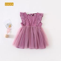 Bebek kız elbise yaz bebek giysileri dikiş dantel kız prenses elbise örgü çocuklar kızlar için elbiseler vestido infantil nereden