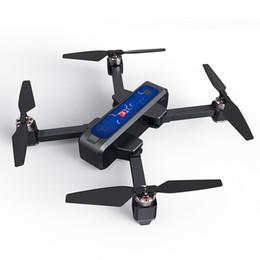 Control remoto mjx online-Control remoto RC Quadcopter Altitud Hold plegable profesional Drone Posicionamiento GPS de alta definición sin escobillas Juguetes recargable MJX B4W 2K T191101