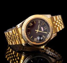 Canada sous-marin relogio masculino montres pour hommes Luxe robe designer de mode Black Dial Calendar or Bracelet Fermoir Fermoir Master Male Offre
