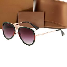 933ddd5ea8 Diseñador de la marca de lujo Cabeza de Tigre gafas de sol Hombres mujeres  clásico Estilo de moda Marco de metal Gafas graduadas Gafas de calidad  superior ...