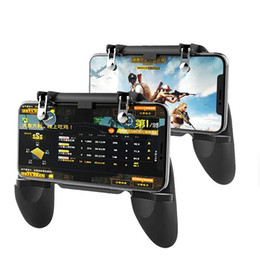 Controller di gioco ios online-Mobile Game Controller PUBG Mobile Controller pubg Key Gaming Grip Gaming Joystick 4,5-6,5 pollici Android iOS compatibile Phone