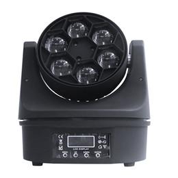 DMX 6 * 10W RGBWA + UV 6in1 с дистанционным управлением моют миниый свет Сид moving головной для партии при одобренный ce rohs supplier remote control head от Поставщики пульт дистанционного управления