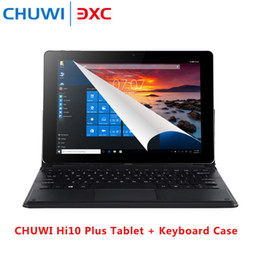 2019 chuwi tabletas pc CHUWI Hi10 Plus Tablet PC Teclado Windows10 Android5.1 10.8 'Pantalla IPS Intel Cherry Trail X5 Z8350 Quad Core 1.44GHz 4GB 64GB chuwi tabletas pc baratos