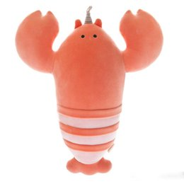 Rubber Soft Crab Lobster Seafood Model Animal Toy Party Decor BB Ring Sound Toy