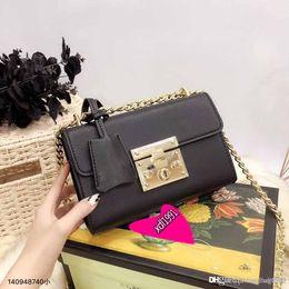 2019 bolso de diseñador de ante negro Marmont negro bolsos de hombro mujer marca Suede Velvet cadena bolso bandolera bolsos famoso diseñador bolso de alta calidad bolso femenino bolso de diseñador de ante negro baratos