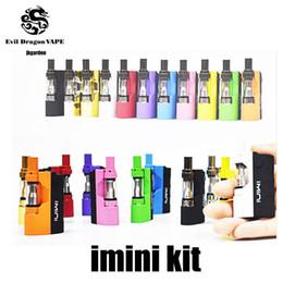 Original Imini vape Cartuchos Starter Kit com Liberty V1 Cartuchos 500 mAh Vape Pré-aqueça VV Mod Fit Liberdade V9 Th205 MT6 G5 Frete Grátis de Fornecedores de kanger kits de tecnologia