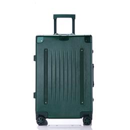 114e189b8e7f5 Beste Spinner Gepäcktasche Trolley Reise Valise Rolling Wheel Koffer  Carry-On Boarding Flugzeug Männer Frauen Reise Reise