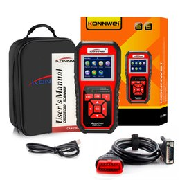 Bmw obd codierung online-2020 OBD2 ODB2 Scanner Auto Diagnostic Scanner KONNWEI KW850 Full Function Car Diagnosis Car Scanner Universal OBD Engine Code Reader