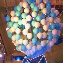 2019 decorações de balão de doces 100 pçs / set 220g 10 Polegada De Látex Macaron Balão Sweet Candy Party / decoração de casamento Rosa Mint Rose Air Hélio Latex Decoração Do Bebê Do Bebê Chuveiro decorações de balão de doces barato