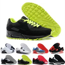 Argentina nike air max 90 airmax  2019 Off Zapatos para correr Zapatillas de deporte Hombre Hombre Mineral del desierto Tenis verde Diseñadores de moda casual Zapatilla Classic Zapatillas cheap tennis running shoes Suministro