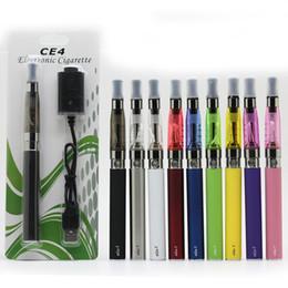 Sumos de ego on-line-eGo T Bateria CE4 atomizador bolha Kits E Kits de cigarro de arranque para E Juice 650mAh 900mAh 1100mAh Battery Capacity 10 cores